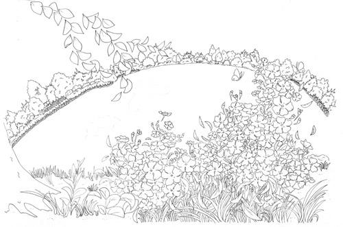 花と湖 ペンのみ.jpg